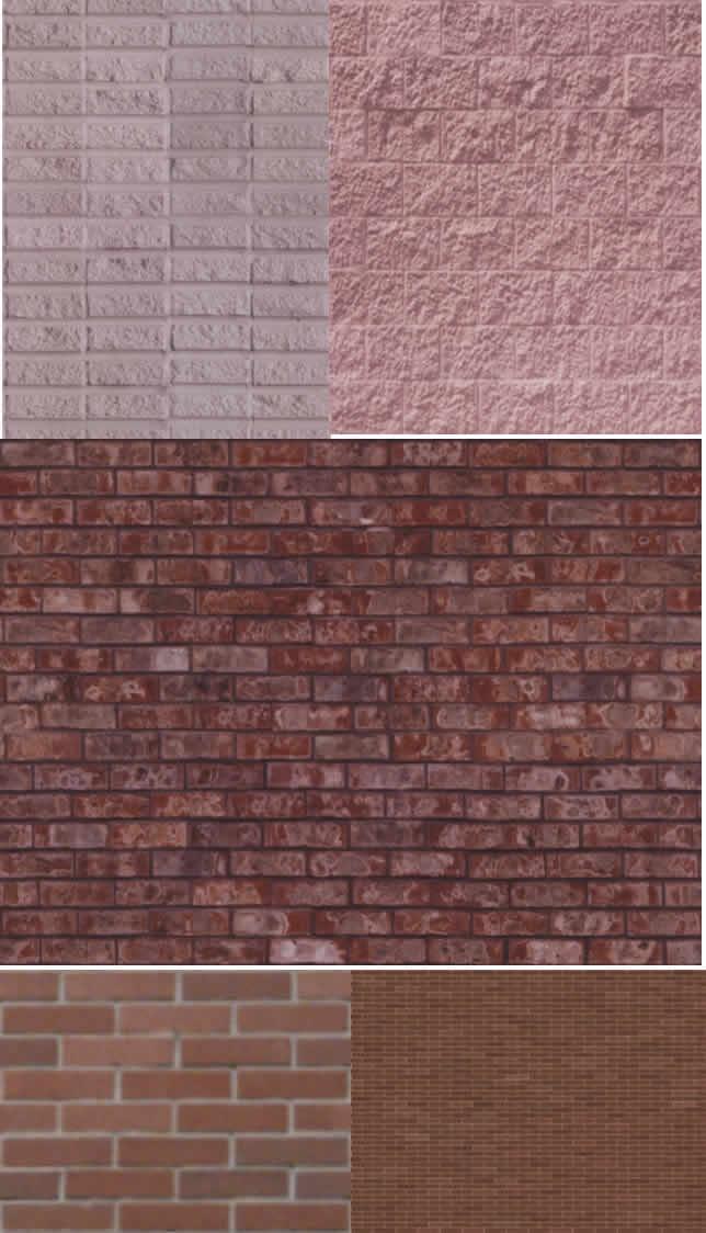 imagen Texturas de ladrillo, en Ladrillo visto - Texturas