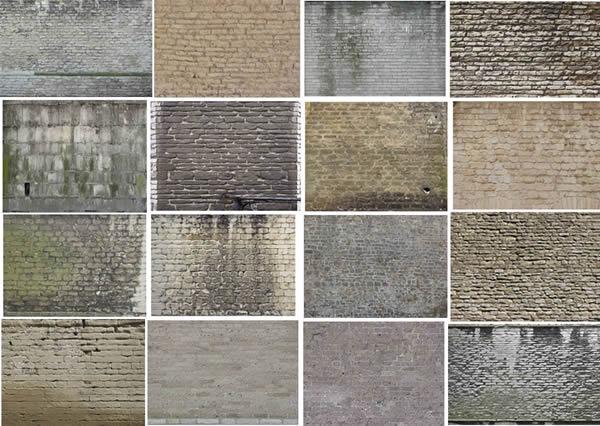 imagen Texturas de ladrillos, en Ladrillo visto - Texturas