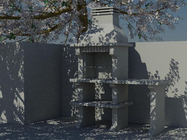 imagen Planos de Barbacoa con bancada y parrilla de 62 x 35 cm. en MAX , Quinchos - churrasquerías - cocinas alternativas - Parques paseos y jardines