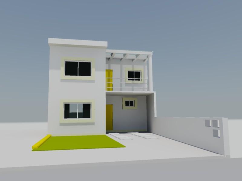 planos de casa habitacion 3d en dwg autocad vivienda
