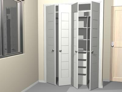 Planos de casas planos de construccion for Closet dormitorio matrimonial