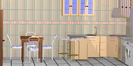 Planos de casas planos de construccion for Planos de cocina en 3d