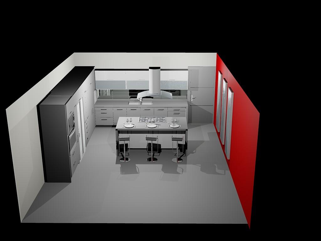 Planos de casas planos de construccion for Planos cocina integral
