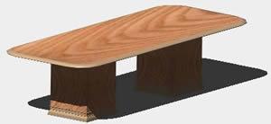 Planos de conference table 3d en dwg autocad oficinas y for Muebles de oficina 3d autocad