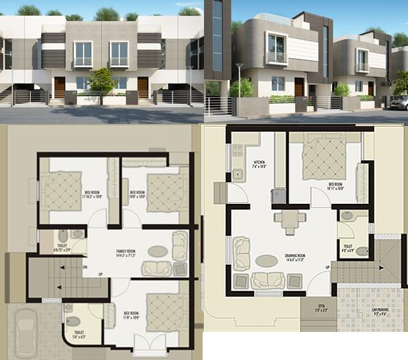 Planos de cuadro de edificio planos y fachada en dwg for Fachadas de viviendas