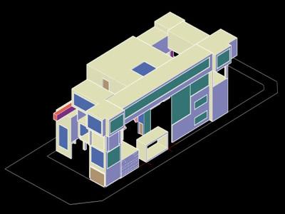 imagen Exposición de arte galería. en 3DS