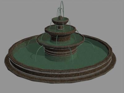 Planos de fuente de agua en dwg autocad p rgolas fuentes for Construccion de fuentes de agua para jardin