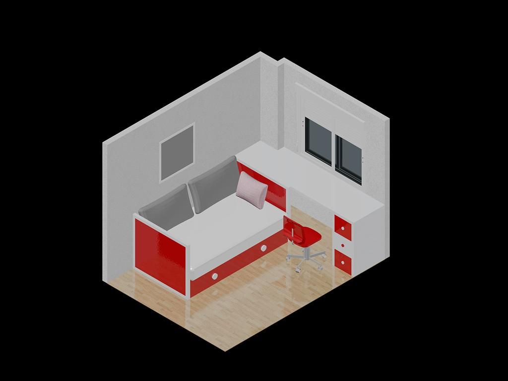 Planospara author at planos de casas planos de for Plano habitacion 3d