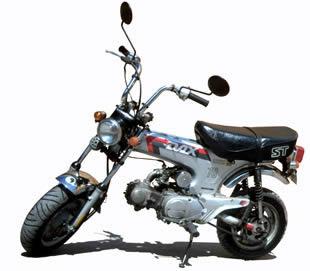 imagen Honda dax 70 en