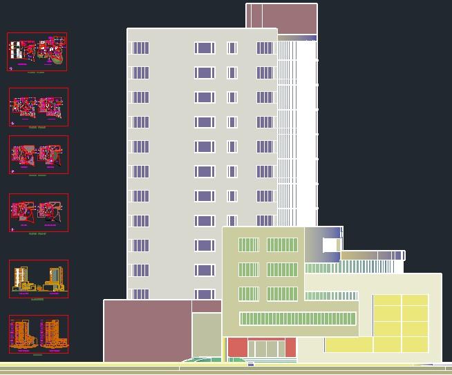 Planos de hotel 5 estrellas hotel en dwg autocad casinos - Hotel de cinco estrellas ...