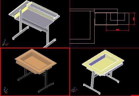 Planospara author at planos de casas planos de for Mesa de luz para dibujo