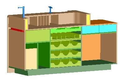24 planos de muebles para tienda de ropa en for Muebles para supermercado