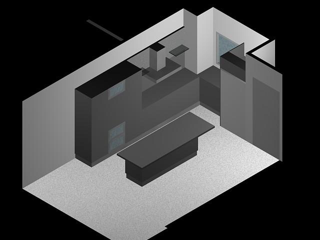 planos de mueble de cocina 3d en dwg autocad cocinas