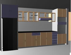 planos de mueble de cocina en max cocinas muebles