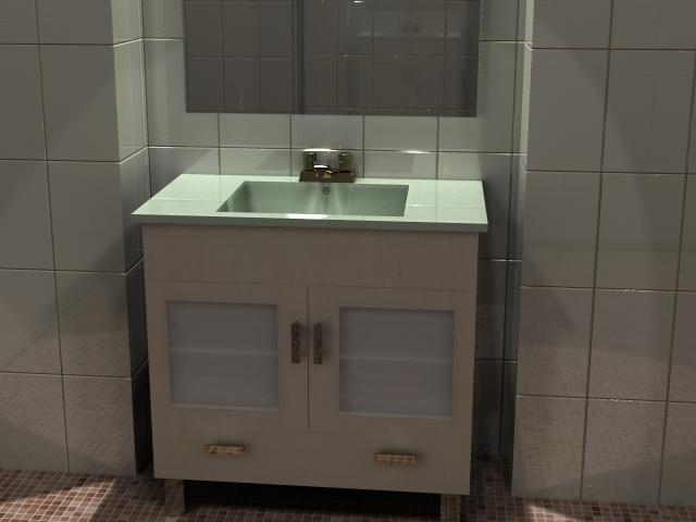 Muebles de bano para lavabo de sobreponer - Muebles de bano para lavabos con pie ...