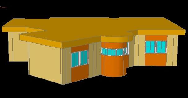 Planos de plano 2d de una casa en dwg autocad vivienda for Casas en 2d