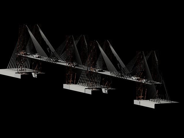 Planos de puente vehicular 3d en dwg autocad puentes for Planos 3d gratis