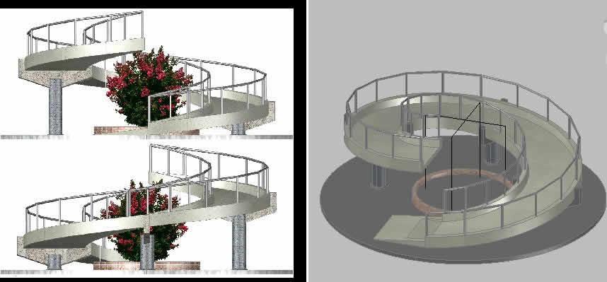 Planos De Rampa Caracol En Dwg Autocad Sistemas De