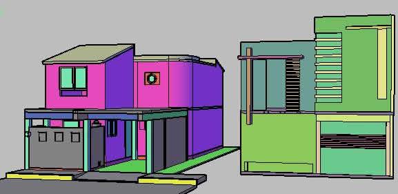 Planos de remodelacion de casa habitacion en dwg autocad for Habitacion 3d autocad