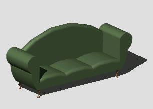 Planos de sillon en dwg autocad sillones 3d muebles for Planos de sillones