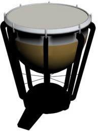 imagen Timbal 3d, en Instrumentos musicales - Muebles equipamiento