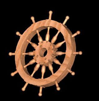 imagen Timon de barco por roman, en Embarcaciones - Medios de transporte