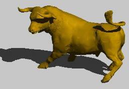 imagen Toro 3d, en Animales 3d - Animales