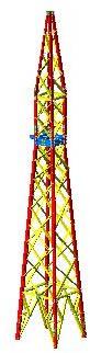 imagen Torre 3d, en Tendidos electricidad - Infraestructura
