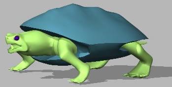 imagen Tortuga 3d, en Animales 3d - Animales