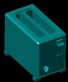 imagen Tostadora 3d, en Electrodomésticos - Muebles equipamiento
