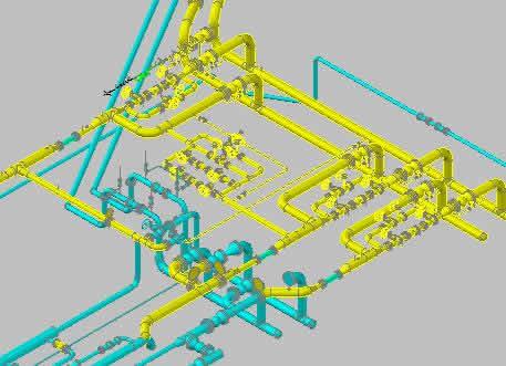 imagen Tuberia 3d hub, en Válvulas tubos y piezas - Máquinas instalaciones