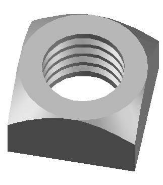 imagen Tuerca 5/8 3d, en Válvulas tubos y piezas - Máquinas instalaciones