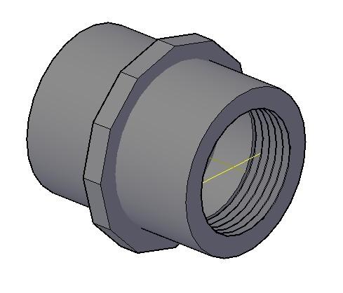 imagen Tuerca union fo go, en Válvulas tubos y piezas - Máquinas instalaciones
