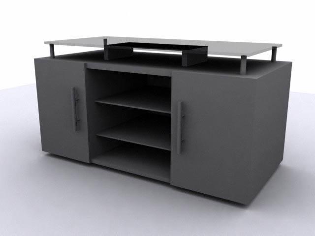 imagen Tv-stand 3d, en Salas de estar y tv - Muebles equipamiento