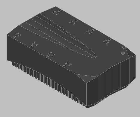 imagen Ups bateria para desconeccion 3d, en Componentes 3d - Electrónica
