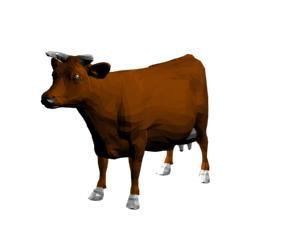 imagen Vaca 3d, en Animales 3d - Animales