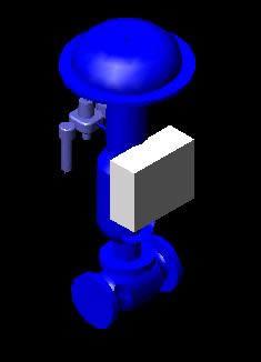 imagen Valbula de registro  3d, en Provisión de gas - Instalaciones