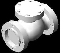 imagen Valvula check diametro 6 150 libras, en Válvulas tubos y piezas - Máquinas instalaciones