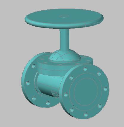 imagen Valvula de diafragma, en Válvulas tubos y piezas - Máquinas instalaciones