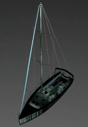 imagen Velero 3d, en Embarcaciones - Medios de transporte