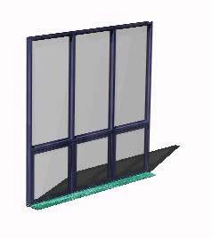 imagen Ventana 3d perfiles aluminio y vidrios, en Ventanas 3d - Aberturas