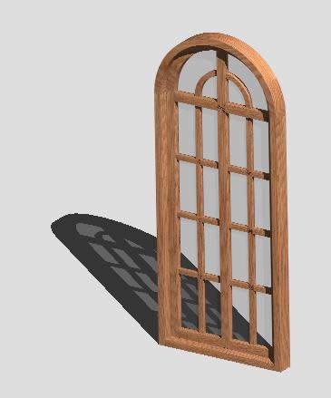 imagen Ventana madera 3d -, en Ventanas 3d - Aberturas
