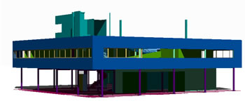 imagen Ville saboye 3d, en Obras famosas - Proyectos