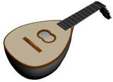 imagen Viola 3d, en Instrumentos musicales - Muebles equipamiento