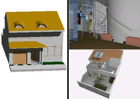 imagen Vivenda 3d, en Vivienda unifamiliar 3d - Proyectos