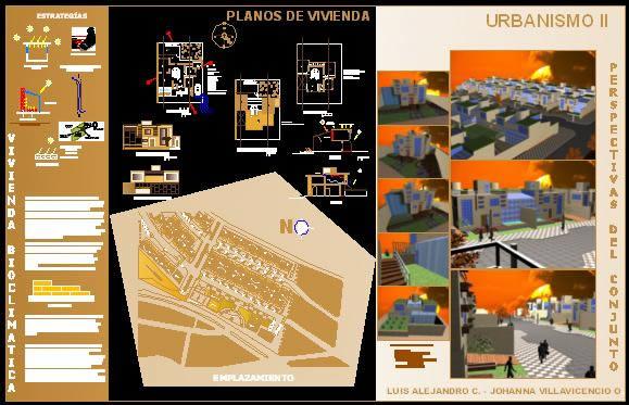 imagen Vivienda bioclimatica en urbanizacion, en Arq. bioclimática - Proyectos