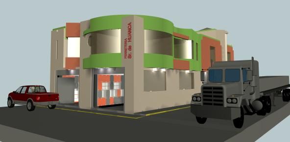imagen Vivienda comercio, en Vivienda unifamiliar 3d - Proyectos