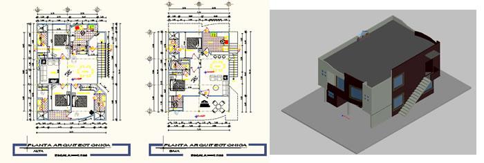 Planospara author at planos de casas planos de for Planos de viviendas de dos plantas