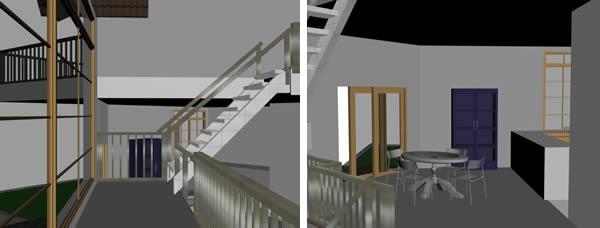 imagen Vivienda en 3d, en Vivienda unifamiliar 3d - Proyectos