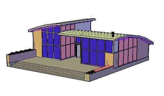 imagen Vivienda, en Vivienda unifamiliar 3d - Proyectos